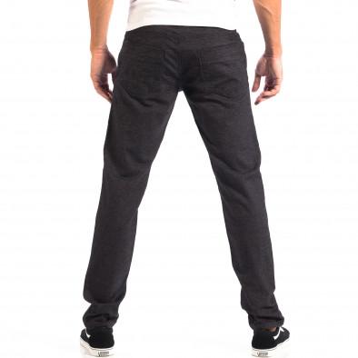 Мъжки Slim панталон RESERVED черен меланж lp060818-111 3