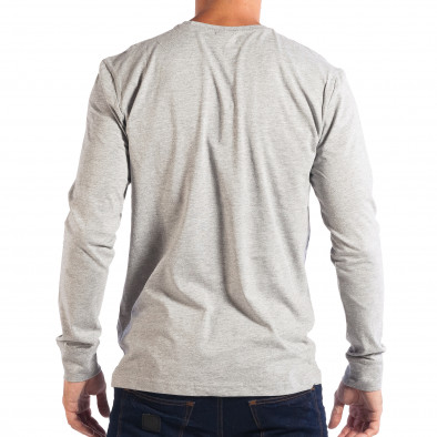 Мъжка сива блуза House UNFOLLOW lp070818-28 3