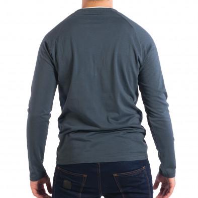 Мъжка синя блуза RESERVED Organic Cotton lp070818-52 3
