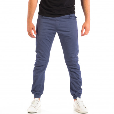 Син мъжки Jogger панталон CROPP lp060818-136 2