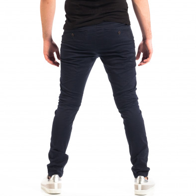Мъжки тъмносин Chino панталон CROPP lp060818-126 3