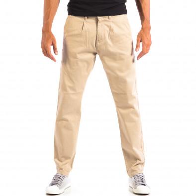 Мъжки бежов панталон RESERVED lp060818-103 2