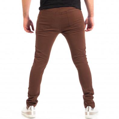 Mъжки кафяв панталон House Slim fit lp060818-96 3