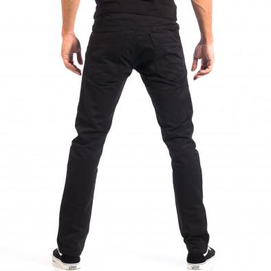Mъжки черен панталон House lp060818-144 3