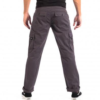 Мъжки сив Cargo панталон House lp060818-114 3