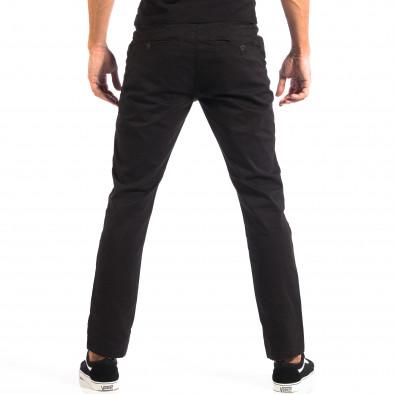 Мъжки черен Chino панталон CROPP lp060818-92 3