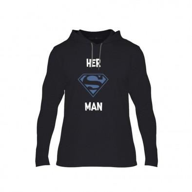 Мъжки суичър Superman Supergirl, размер XL TMNCPM152XL 2