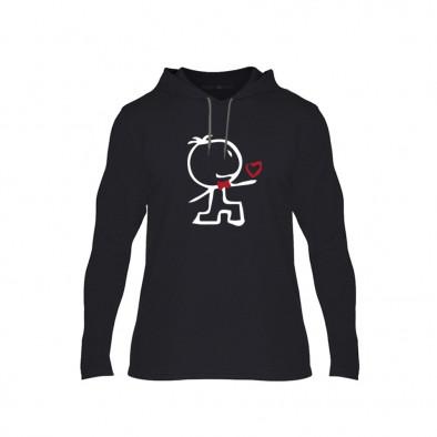 Мъжки суичър Love Gift, размер L TMNCPM172L 2