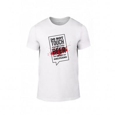 Мъжка тениска Don't touch me!, размер L TMNLPM074L 2