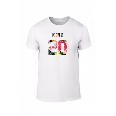 Мъжка тениска King & Queen 2018 , размер M TMNLPM217M 2