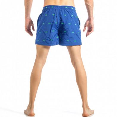 Мъжки син бански на акули it040518-101 3