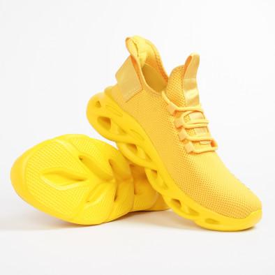 Мъжки маратонки Rogue в жълто it281119-3 5