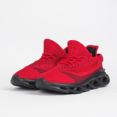 Мъжки маратонки Rogue червен меланж it201219-1 4
