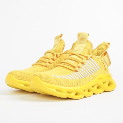 Мъжки маратонки Rogue в жълто it281119-3 4