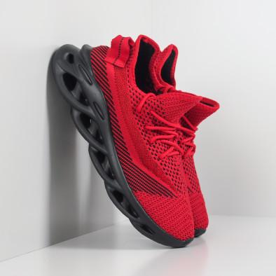 Мъжки маратонки Rogue червен меланж it201219-1 2