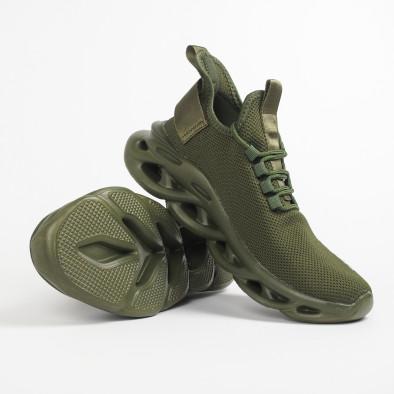 Мъжки маратонки Rogue в милитъри зелено it281119-2 4