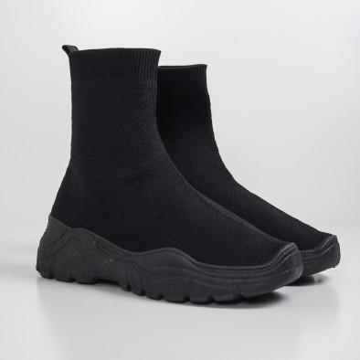 Basic Slip-on дамски маратонки черна подметка it130819-45 3