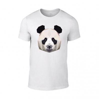 Мъжка бяла тениска Panda TMN-M-193 2