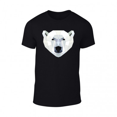 Мъжка черна тениска Polar Bear TMN-M-200 2