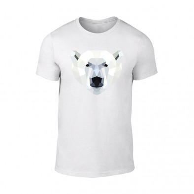 Мъжка бяла тениска Polar Bear TMN-M-199 2