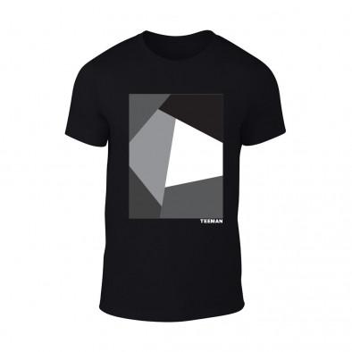 Мъжка черна тениска Teeman TMN-M-072 2