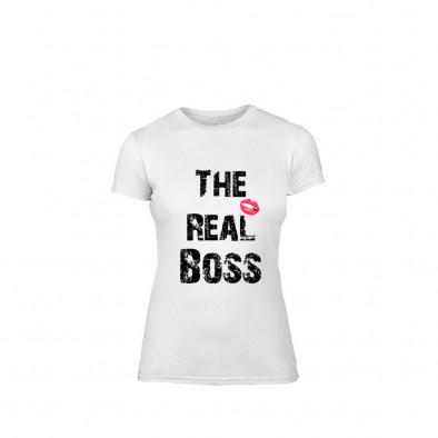 Дамска тениска The Real Boss, размер S TMNLPF139S 2