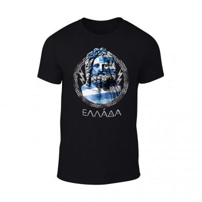 Мъжка черна тениска Zeus TMN-M-060 2