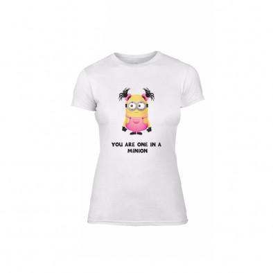 Дамска тениска One in a Minion, размер S TMNLPF229S 2