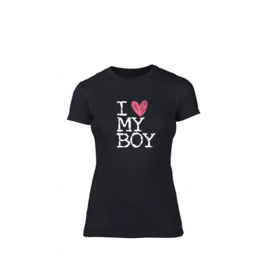 Дамска тениска  Love My Girl Love My Boy размер S TMNLPF027S 2