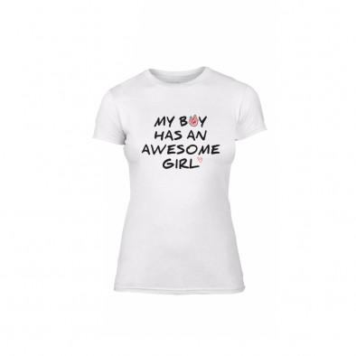 Дамска тениска The Awesome Boy & Girl, размер M TMNLPF066M 2