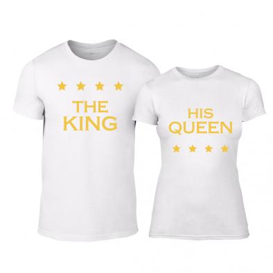 Тениски за двойки Royal Stars бели TMN-CP-254 2