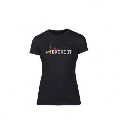 Дамска тениска Mrs. Broke It, размер M TMNLPF083M 2