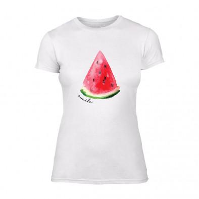 Дамска бяла тениска Watermelon TMN-F-033 2