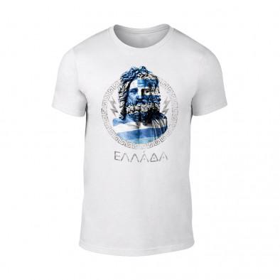 Мъжка бяла тениска Zeus TMN-M-059 2
