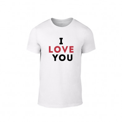 Мъжка тениска I love you, размер XXL TMNLPM155XXL 2