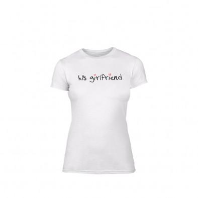Дамска тениска His girlfriend, размер L TMNLPF060L 2