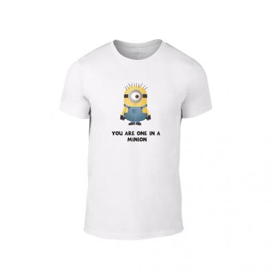 Мъжка тениска One in a minion, размер M TMNLPM229M 2