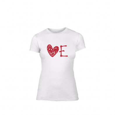 Дамска тениска Love, размер S TMNLPF052S 2