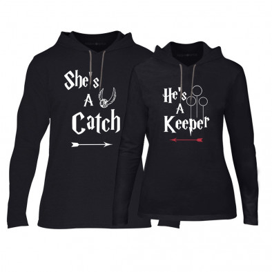 Суичъри за двойки Catch/Keeper в черно TMN-CPS-134 2