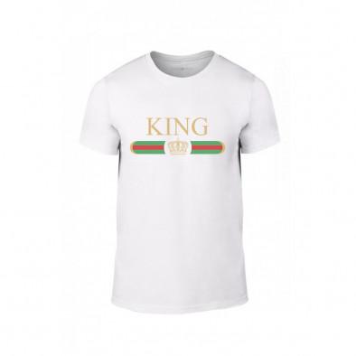 Мъжка тениска Fashion King Queen, размер L TMNLPM244L 2