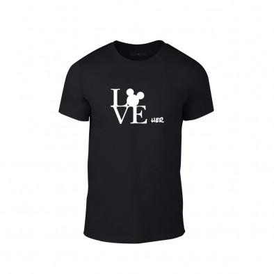 Мъжка тениска Love Her, размер S TMNLPM116S 2