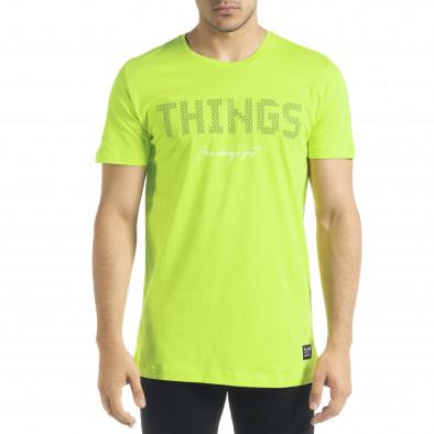 Неонова мъжка тениска Things tr080520-46 2