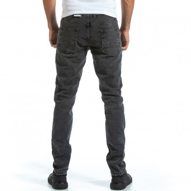 Long Slim мъжки сиви дънки плътен деним tr070921-8 3