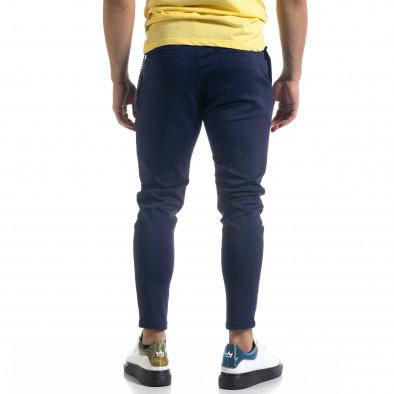 Мъжки син панталон с аксесоар tr110320-119 3