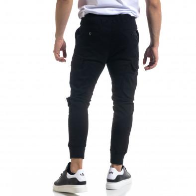 Мъжки панталон тип Jogger с обемни джобове tr110320-127 4