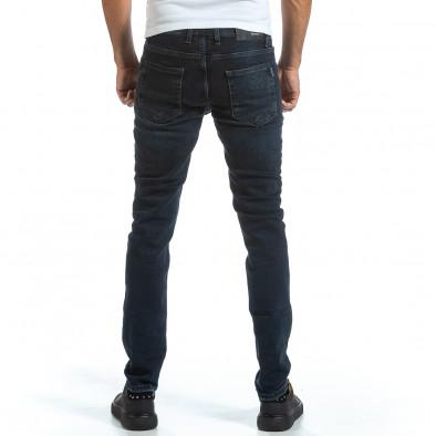 Long Slim сини дънки плътен деним tr070921-10 3