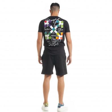 Черен мъжки спортен комплект 2020 tr080520-67 4