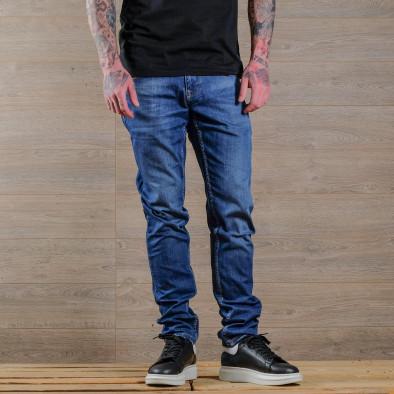 Basic Slim fit мъжки сини дънки tr030420-3 3