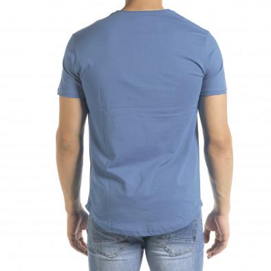 Basic O-Neck тениска цвят деним tr080520-37 3