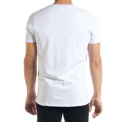 Мъжка тениска Panda Criminal в бяло tr080520-21 3